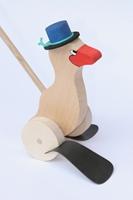 Obrázek Dřevěná plácačka Kachna