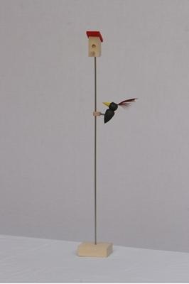 Obrázek z Datel na tyči