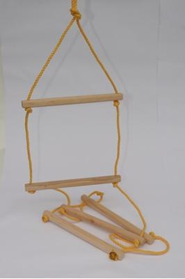 Obrázek z Dřevěný Žebřík 230 cm