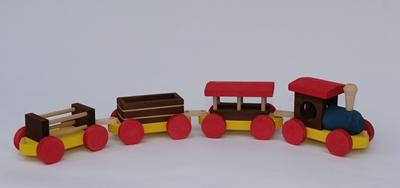 Obrázek z Dřevěný vláček