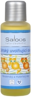 Obrázek Saloos Dětský uvolňující olej 50 ml