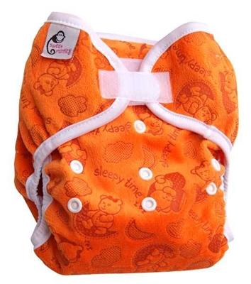Obrázek z Svrchní kalhotky jednovelikostní Sweet Monkey oranžová méďové