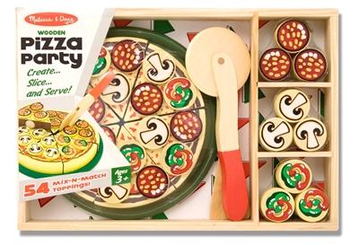 Obrázek z Melissa & Doug Krájení - Pizza párty