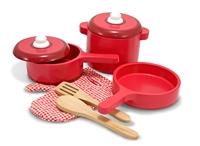 Obrázek Melissa & Doug Dřevěné kuchyňské nádobí