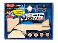 Obrázek Tryskové letadlo - kreativní dekorace - Melissa & Doug