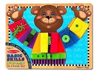 Obrázek Melissa & Doug Dřevěný dovednostní Medvěd