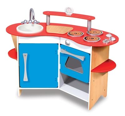Obrázek z Melissa & Doug Velká dřevěná kuchyňka