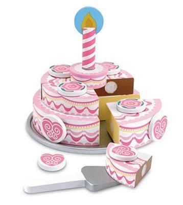 Obrázek z Melissa & Doug Krájení - Třípatrový dort na oslavu