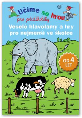Obrázek z Veselé hlavolamy a hry pro nejmenší ve školce