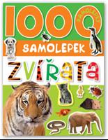 Obrázek 1000 samolepek zvířata