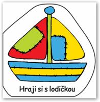 Obrázek Hraji si s lodičkou – plovoucí kniha