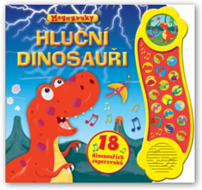 Obrázek z Hluční dinosauři – 18 dinosauřích superzvuků