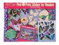 Obrázek Samolepky - Motýlí zahrada  Melissa & Doug