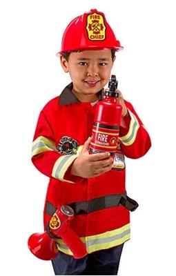 Obrázek z Karnevalový kostým hasič / požárník Melissa & Doug