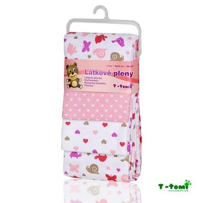 Obrázek z Látkové pleny, růžoví šneci