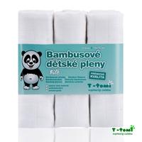 Obrázek Bambusové pleny, bílá