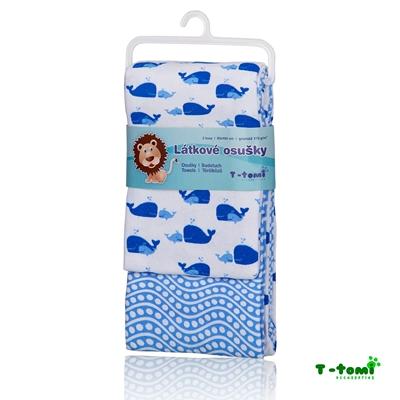 Obrázek z Látkové osušky, modrý oceán