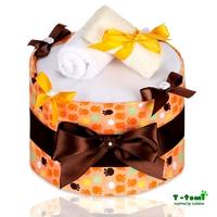Obrázek Plenkový dort, velké oranžové tlapky