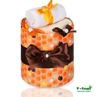 Obrázek Plenkový dort LUX, malé oranžové tlapky