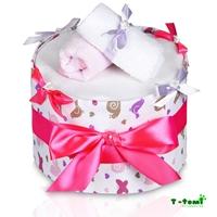 Obrázek Plenkový dort LUX, velký šnek