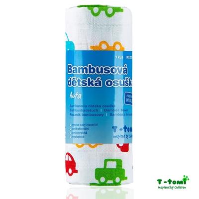Obrázek z Bambusová osuška, auta