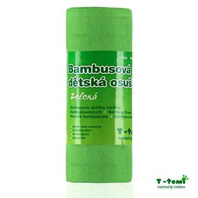 Obrázek z Bambusová osuška, zelená new