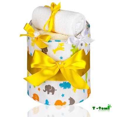 Obrázek z Plenkový dort ECO - LUX, malá žirafa