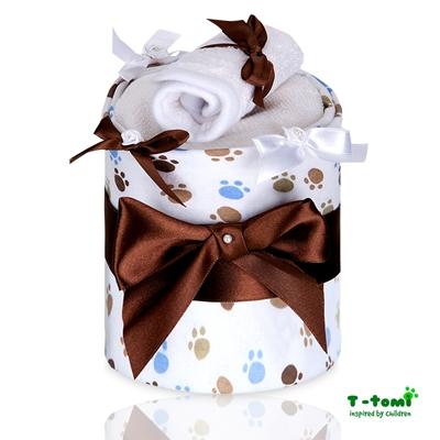 Obrázek z Plenkový dort ECO - LUX, malé bílé tlapky