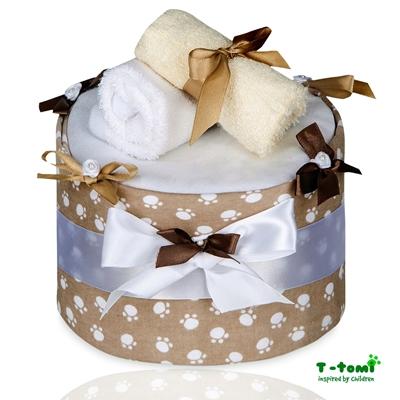 Obrázek z Plenkový dort ECO - LUX, velké béžové tlapky