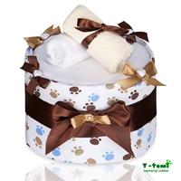 Obrázek Plenkový dort ECO - LUX, velké bílé tlapky