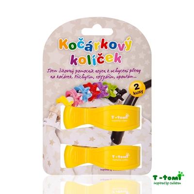 Obrázek z Kočárkový kolíček, žlutý