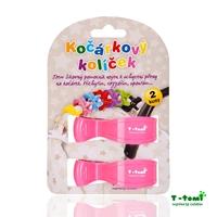 Obrázek Kočárkový kolíček, růžový