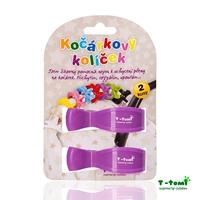 Obrázek Kočárkový kolíček, fialový