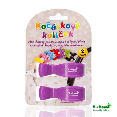 Obrázek z Kočárkový kolíček, fialový