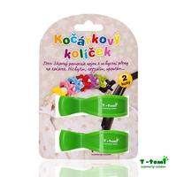 Obrázek Kočárkový kolíček, zelený