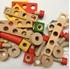Obrázek z Dřevěná šroubovací stavebnice 90 ks