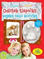 Obrázek Odlitek tlapky kočka/pes