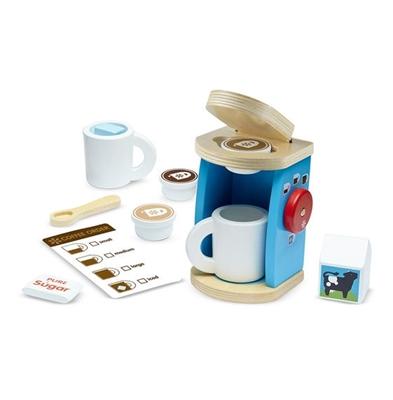 Obrázek z Melissa & Doug Luxusní dřevěný kávový set