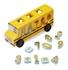 Obrázek z Melissa & Doug Dřevěný Autobus s vkládacími čísly vkládacími čísly