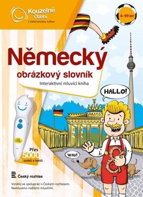 Obrázek z ALBI Kouzelné čtení Německý obrázkový slovník