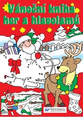 Obrázek z Vánoční kniha her a hlavolamů