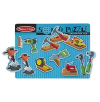 Obrázek Dřevěné puzzle se zvukem nářadí Melissa & Doug