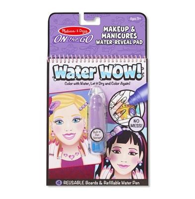 Obrázek z Melissa & Doug Vodní malování - Makeup a manikura