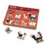 Obrázek z Dřevěné puzzle se zvuky zvířátek z farmy Melissa & Doug