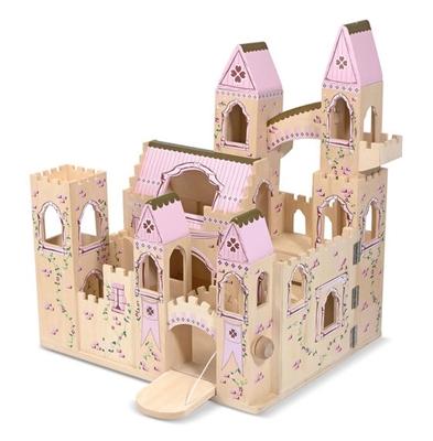 Obrázek z Melissa & Doug Dřevěný zámek pro princeznu