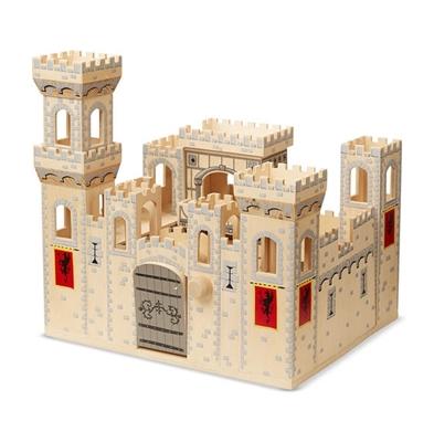 Obrázek z Melissa & Doug Dřevěný středověký hrad