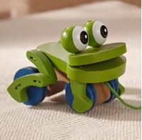 Obrázek Melissa & Doug Dřevěná tahací žába