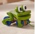 Obrázek z Melissa & Doug Dřevěná tahací žába