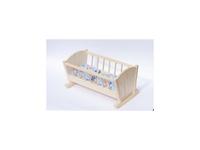 Obrázek Dřevěná kolébka pro panenky malá