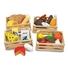 Obrázek z Melissa & Doug Dřevěné bedýnky s jídlem